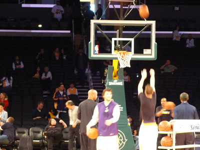 Lakers vs Spurs 04-04-2010