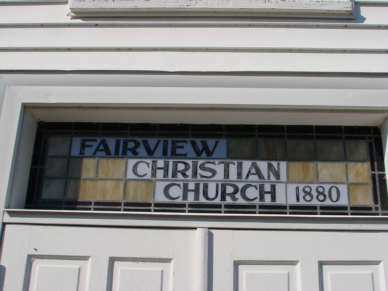 Fairview Christian Church, Hood, VA Building Dedication Nov. 23, 2008
