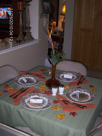 Thanksgiving at Dana's 2010