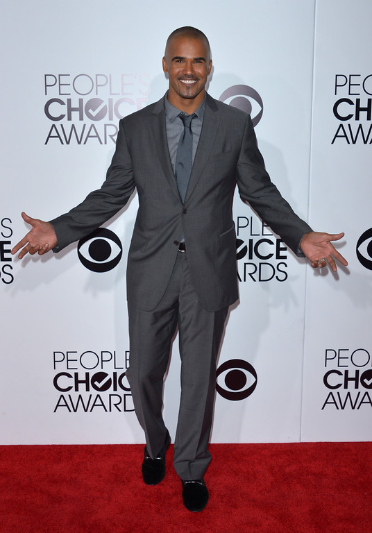 . Shemar Moore arrives at the 40th annual People\'s Choice Awards at Nokia Theatre L.A. Live on Wednesday, Jan. 8, 2014, in Los Angeles. (Photo by John Shearer/Invision/AP)