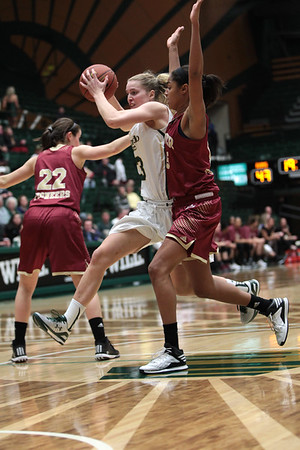 CSU vs. Denver WBB 2014