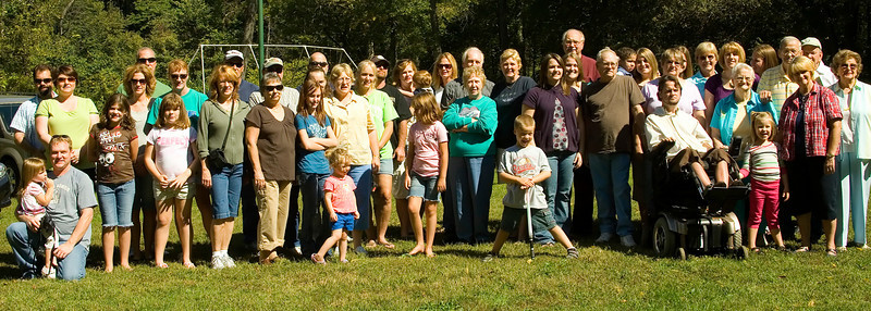 Family Reunion Sept 2008
