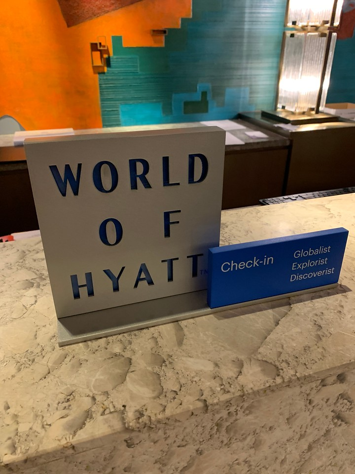World of Hyatt. When can I become a Globalist