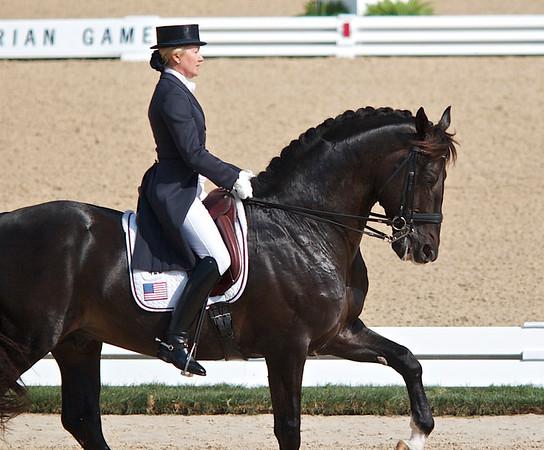 World Equestrian Games/ Dressage tests