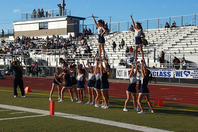 Freshman Cheer vs. GOHS