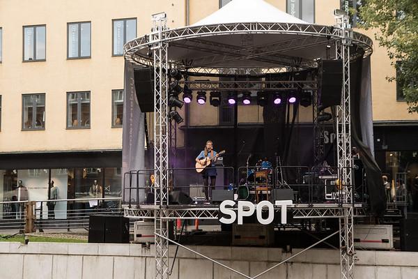 Upcoming bands på Spot scenen