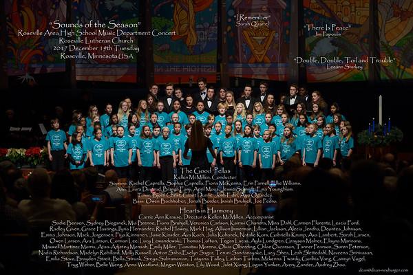 Roseville HS Choir  2018 Dec