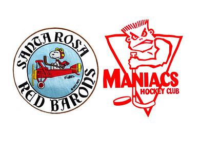 55C Santa Rosa Red Barons vs Cupertino Maniacs