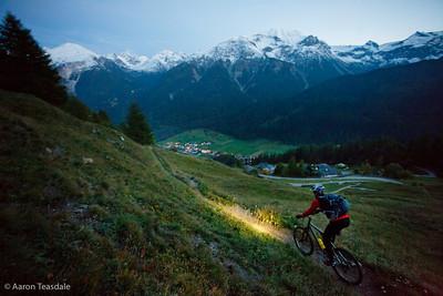 Switzerland by mountain bike: Alpine Route 1