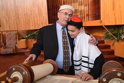 Eli at Beth El Synagogue, St. Louis Park, MN