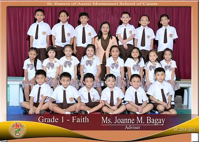 Class Photos 2014-2015