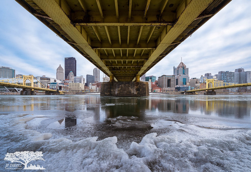 Under the Bridge Pittsburgh Frozen North Shore Winter c web srgb.jpg