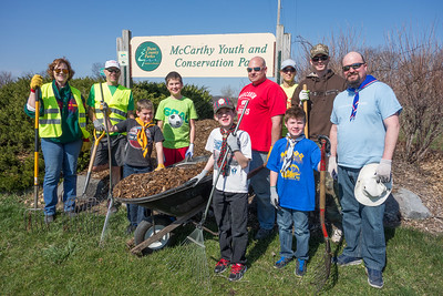 2016: McCarthy Youth Conservation Park Work Day