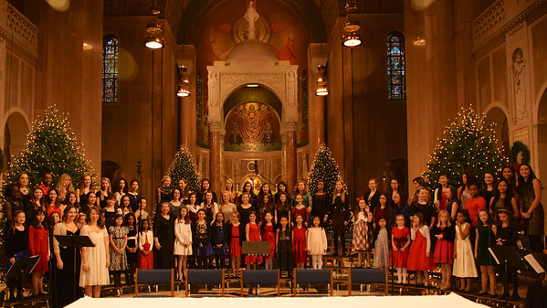 Junior Chorus at the Shrine 2013