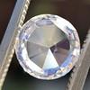 1.51ct Round Rose Cut Diamond, GIA K VS1 8
