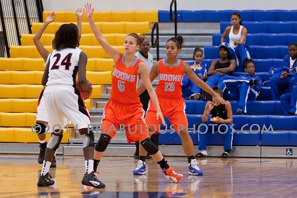 Boone Vs. Lake Highland Girls Varsity Basketball  Osceola Tournament - 2011