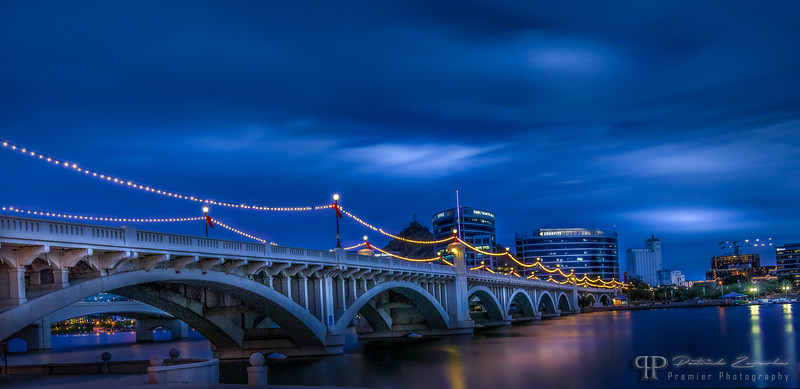 Tempe Town Lake Bridge by Premier Photography USA