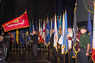 10-B Flag Ceremony