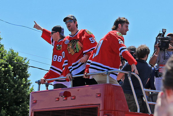 The Blackhawk's Victory Parade