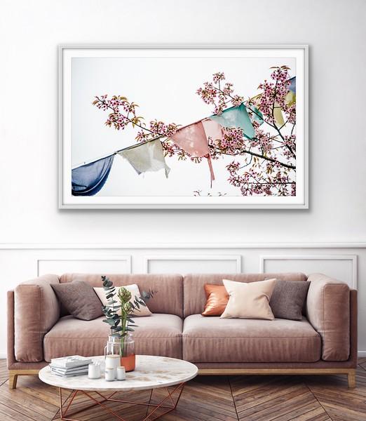 'Into the Wind' Fine Art Print Framed/Unframed