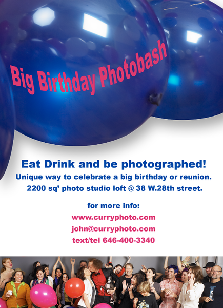 Big Birthday Photobash