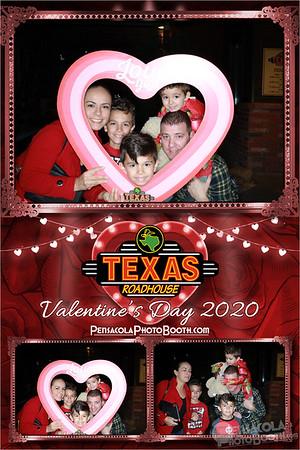 Texas Roadhouse Valentine's Day 2-14-2020