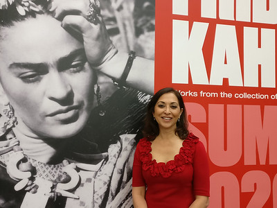 Frida Kahlo exhibit