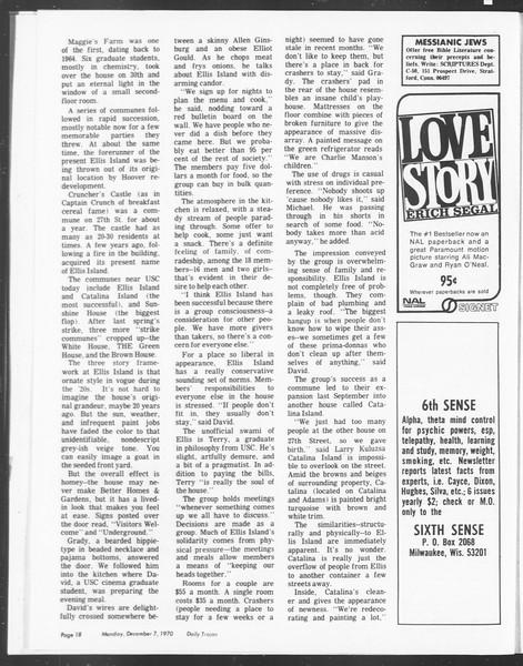 SoCal, Vol. 62, No. 49, December 07, 1970