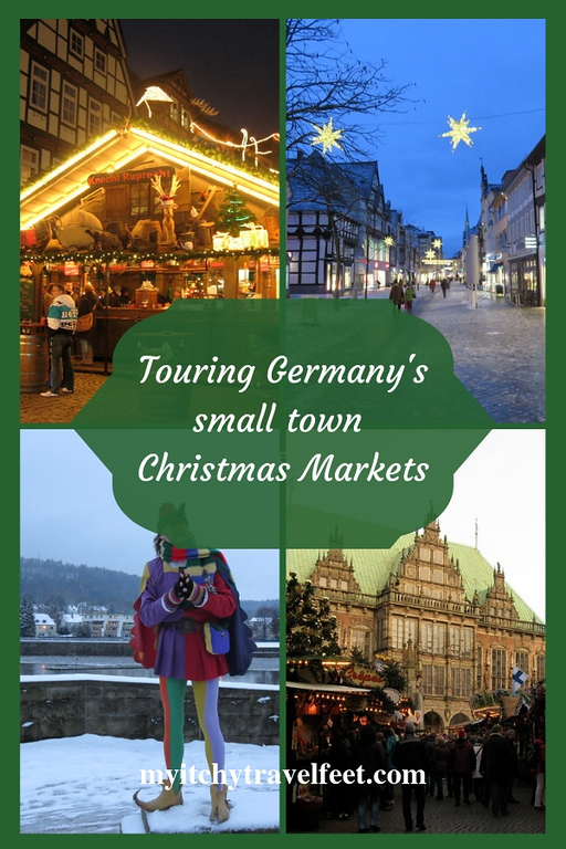 Touring Germany's small town Christmas Markets.