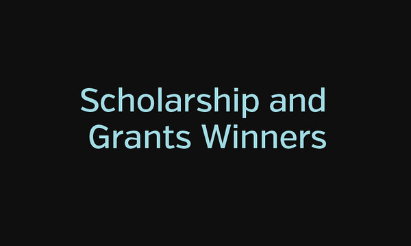 2014 Scholarship and Grants Winners