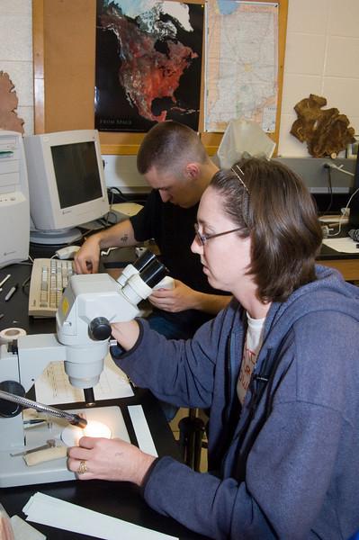 Speer, Rathburn lab shots