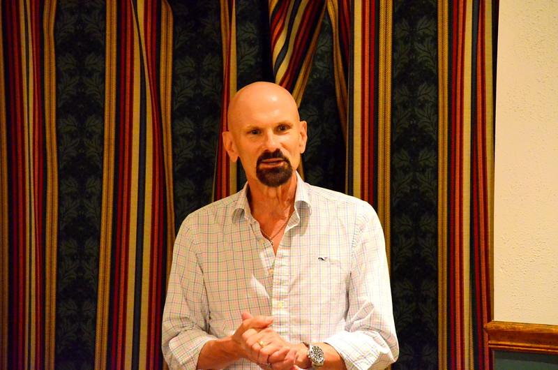 Tom Evans - former boss of Mark shared some kind words of Mark at KAPL..