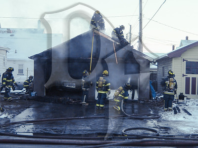 Otis St Garage Fire - 1/6/04