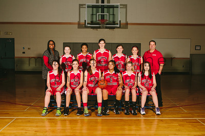 MS Girls Varsity Basketball