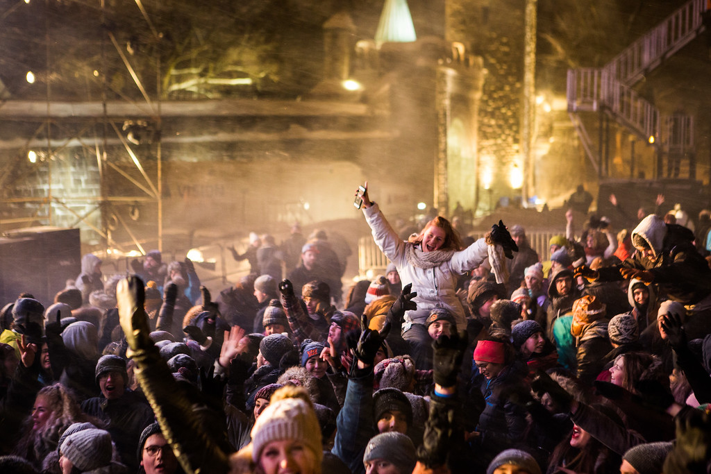Quebec City New Year's is an epic party!