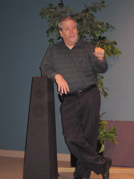 Joe Heusi. President and owner of Houston's Oldest high end audio shop, describing the advantages of the Vandersteen subwoofers, including those integrated into the main speakers such as the 5A and the Quatro, and the stand-alone models. Go here for a description: http://www.vandersteen.com/pages/2Wqlit.html