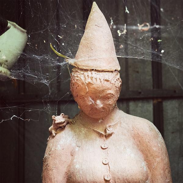 Sculpture display at The Waterworks, NZ