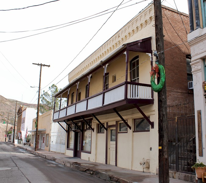 Zorilla's Meat Market building on Chase Creek Street (2019)