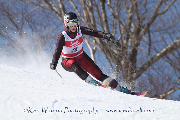 2012-03-07 Giant slalom Second Run