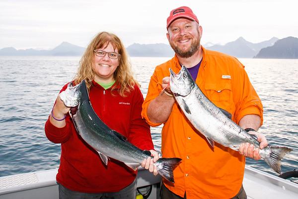 Seward - Silver Salmon & Sightseeing