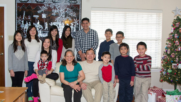Christmas 2013 Ho Family