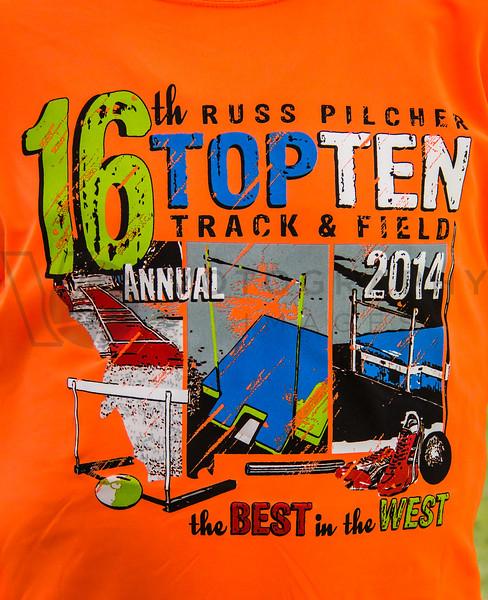 2014  Russ Pilcher Top Ten T&F Meet