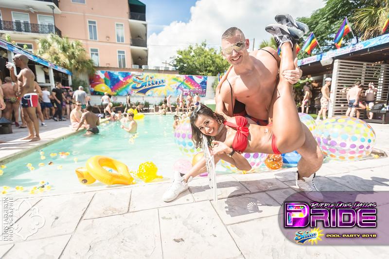 SHINE | The Dallas Pride Pool Party 2018
