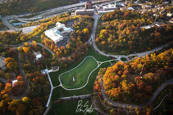Aerial Cincinnati
