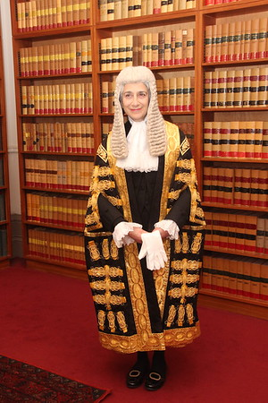 Swearing in to the Court of Appeal 24.1.2019