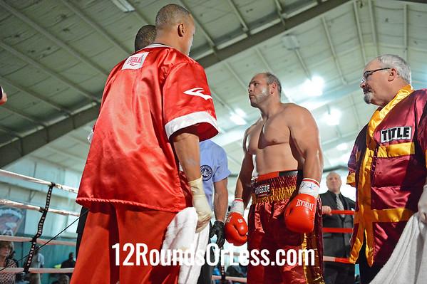 Bout 4 Jason Bergman, Pittsburgh, PA vs. John Smith, Columbus, OH  Heavyweight