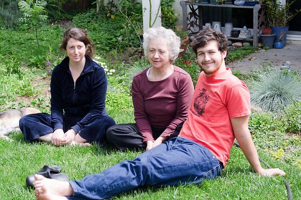 Andrew, Danya, Ibi, Apr 2011