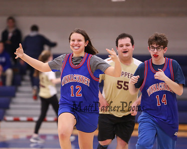 2020-2-7 WHS Coed Varsity Unified Basketball vs Portsmouth