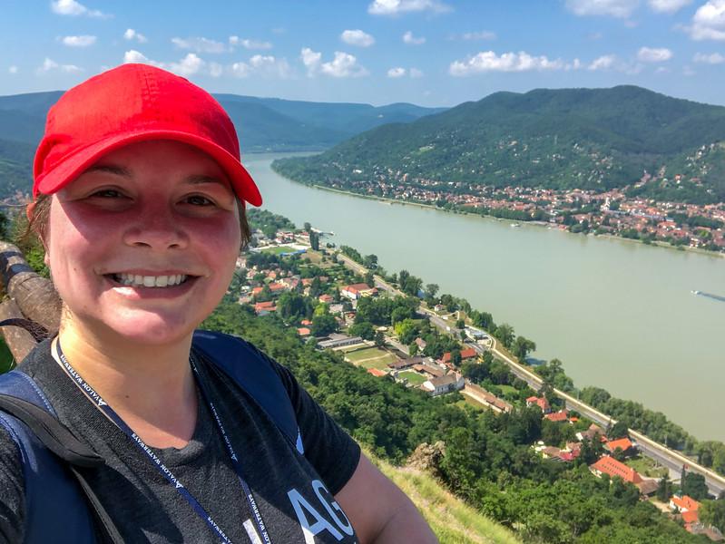 Hiking in Visegrad, Hungary