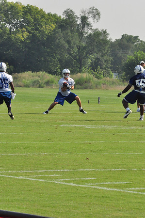 Colts Training Camp 2010